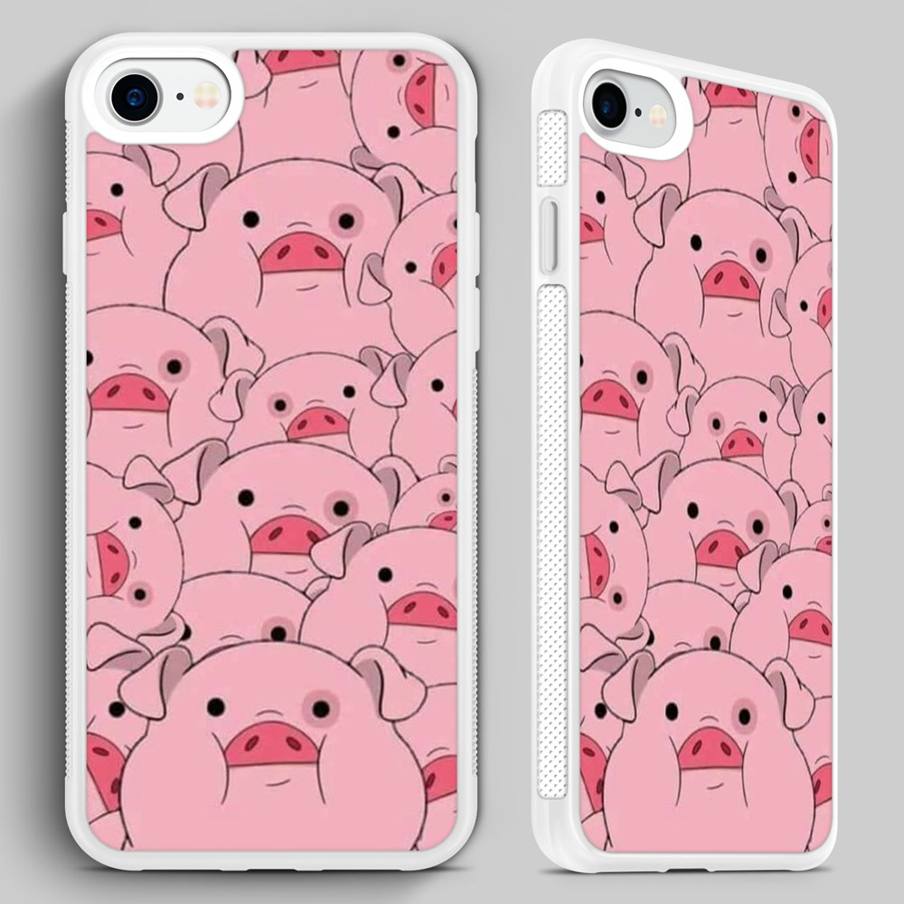 cheaper 4c34b c4378 Details about Gravity Falls Waddles Pig Disney QUALITY PHONE CASE COVER for  iPHONE 4 5 6 7 8 X